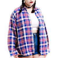 Vintage 90's Touch Me I'm Sick Flannel - One Size Fits Many