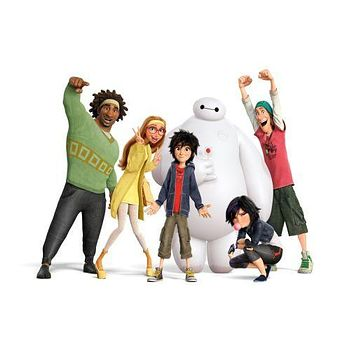 Big Hero 6 Movie Poster Mug Photo Coffee Mug