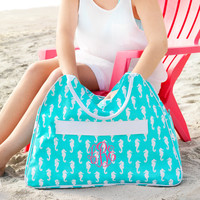 Large Beach Bag Perfect for beach, pool, or a day at the lake- Personalization Included in Price!
