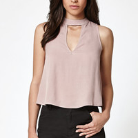 Kendall and Kylie Choker Keyhole Tank Top at PacSun.com