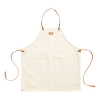 Cotton Twill Apron - from H&M