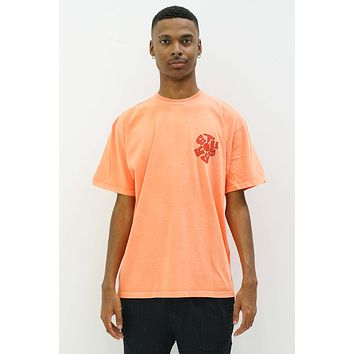 Sprout SS Tee in Neon Orange