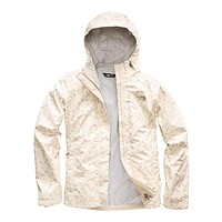 Women's Print Venture Jacket in Vintage White Sparse Triangle Print by The North Face