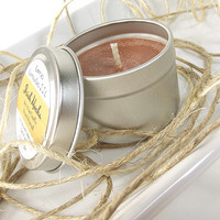 Scented Soy Candle - Irish Mocha scented Soy Candle Tin -- 2 ounce Tin
