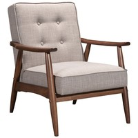 Rocky Arm Chair Putty