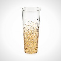 Bubbly Gold Champagne Flutes Set of 4