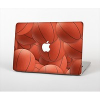 The Basketball Overlay Skin Set for the Apple MacBook Air 13""