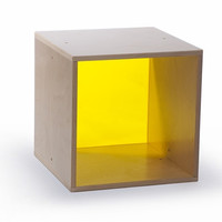 Whitney Brothers Cube Storage: Yellow WB0905Y