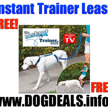 Instant Trainer Dog Leash Trains Dogs 30 Lbs Stop Pulling As Seen On TV Dogwalk Just pay shipping