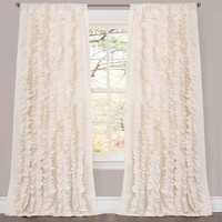 Belle Ivory Window Curtain - Walmart.com