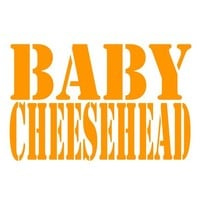 Baby Cheesehead Shirt Infant Packer Tee Green Bay Packers One Piece Boys Girls 0