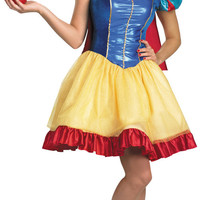 Disney Princess Snow White Fab Deluxe Adult Costume Plus