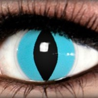 Aqua Cat Theatrical Contact Lens by ExtremeSFX
