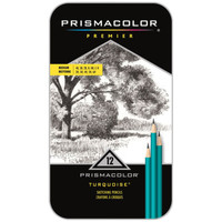 Prismacolor® Premier® Turquoise Medium Graphite Pencil Set