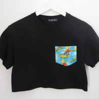 Bart Simpson Crop Top