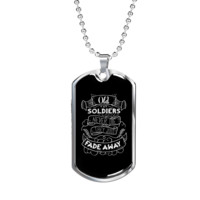 Old Soldiers - Luxury Dog Tag Necklace