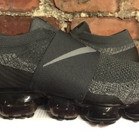 Nike Air Vapormax Flyknit Moc UK9 US10 EU44 Midnight Fog Dark Stucco AH3397 013
