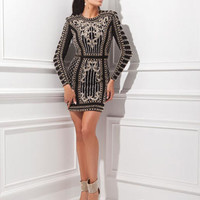Homecoming Dresses - Tony Bowls Shorts TS21452 Long Sleeves