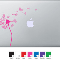 Dandelion Decal for Macbook Pro Air or Ipad by MacDaddyDecal