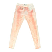 Levi's Womens Colored Low-Rise Leggings - 27 / Pink/White