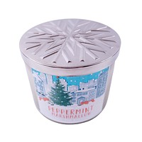 Bath and Body Works Peppermint Marshmallow Scented Candle With Essential Oils 14.5 oz