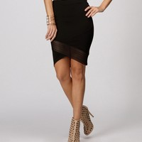 Sale-black Go To Skirt