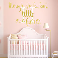 Babys Nursery Decor, Pink and Gold Nursery Decor