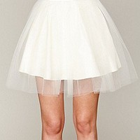 Misile  About Girl Tutu Mini at Free People Clothing Boutique