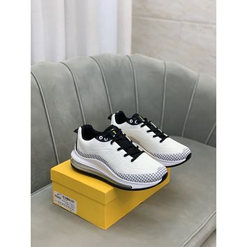 FENDI 2021 Men Fashion Boots fashionable Casual leather Breathable Sneakers Running Shoes10050qh