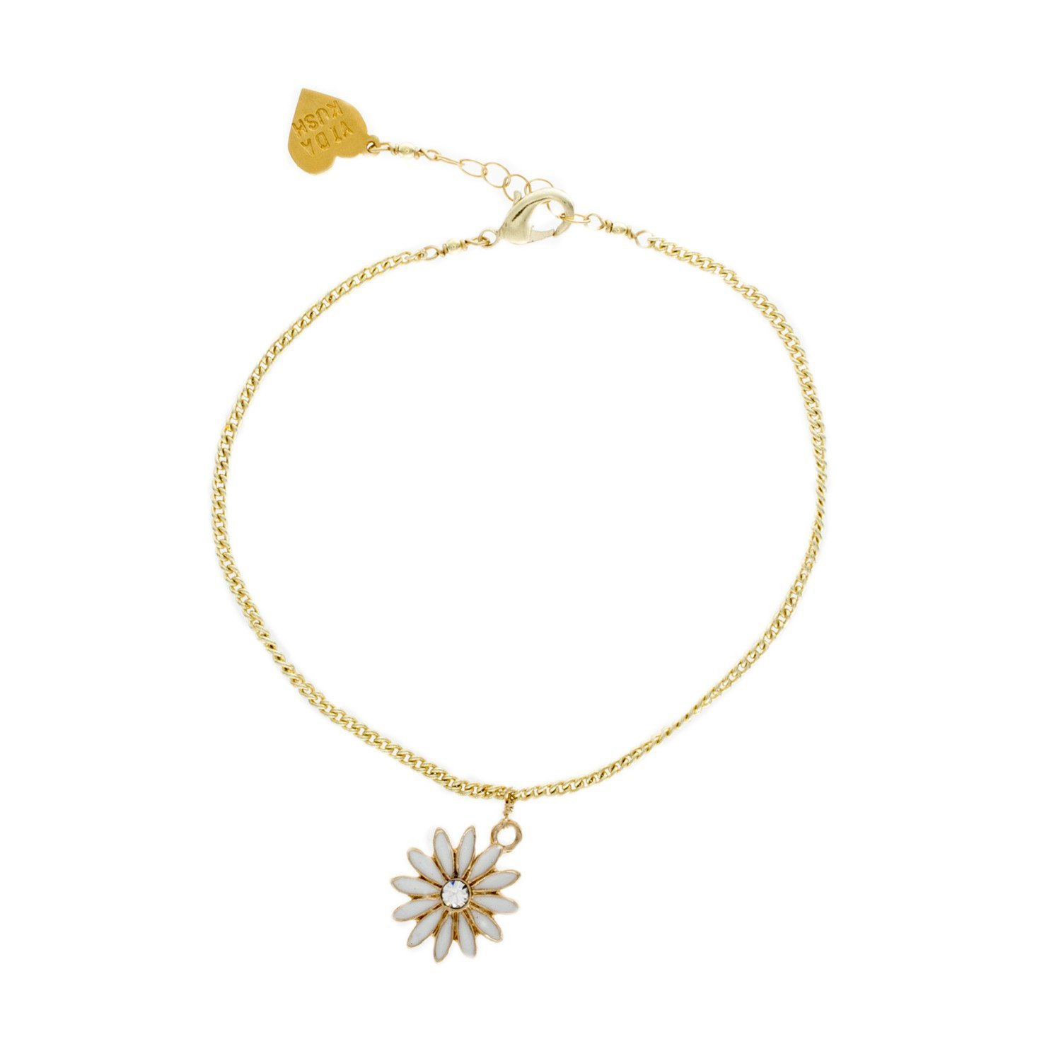 Image of Daisy Charm Anklet