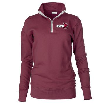 Official NCAA Central Washington University Wildcats Unisex Fleece Pullover