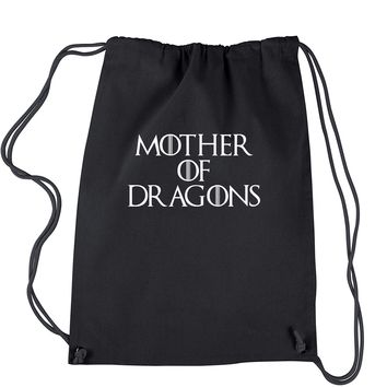 Mother Of Dragons Drawstring Backpack