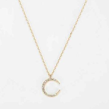 Moonstar Necklace - Gold One