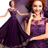 long  evening dresses party 2015 new spring bride dress bridesmaid and slim evening dresses prom dresses mother of the bride dresses = 1929400004