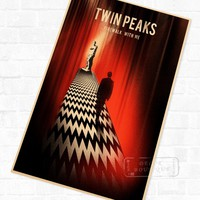 Twin Peaks Fire Walk With Me Vintage Poster