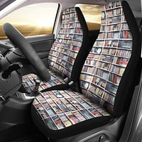 Library Nook Car Seat Covers