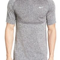 Nike Slim Fit Knit Trim Dri-FIT Running T-Shirt | Nordstrom