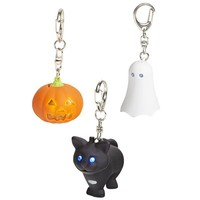 LED Halloween Keychains with Sound