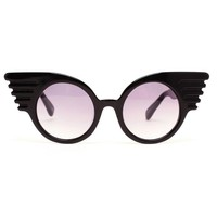 Browns fashion & designer clothes & clothing   JEREMY SCOTT   Windswept Wings Sunglasses