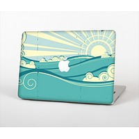 "The Retro Vintage Vector Waves Skin Set for the Apple MacBook Pro 13"" with Retina Display"
