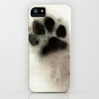 I Paw You - Dog Art By Sharon Cummings iPhone & iPod Case by Sharon Cummings