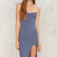 Keep Your Cool Strapless Dress