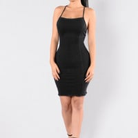 Blueberry Hill Dress - Black