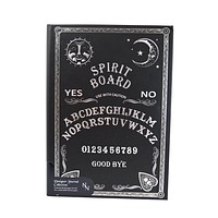 Ouija Board | SPIRIT BOARD Embossed Hard Cover Journal Wicca Pagan Occult Notebook