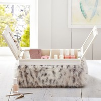 Faux Fur Manicure/Pedicure Lapdesk