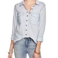 Free People Last Chance Button Down Shirt | Bloomingdales's