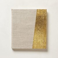 Glimmer-Dipped Journal by Anthropologie