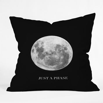 Chelsea Victoria Just A Phase Outdoor Throw Pillow