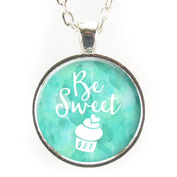 Be Sweet Cupcake Necklace