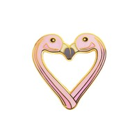 Aww Sam Flamingo Pin